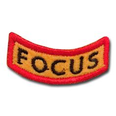 Excellent Focus Award Patch now available from http://www.karatemart.com/