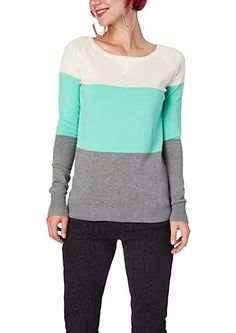 image of Color Block Raglan Dorito Sweater. I need to stop shopping  -.-