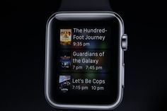 Siri functionality is also available on Apple Watch.