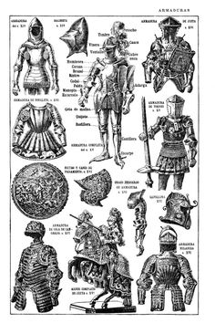 Armor of the Middle Ages. Copyright free images of Armor of the Middle Ages from my personal collection for you to use in your art work. Medieval Weapons, Medieval Life, Medieval Knight, Medieval Fantasy, Armadura Medieval, Middle Ages History, Atelier D Art, Renaissance Era, Knight Armor