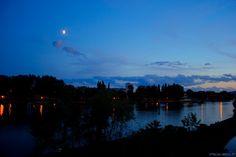 Parc du Grand Patural de nuit - Metz