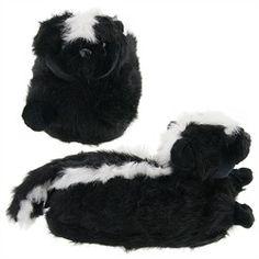 Skunk Animal Slippers for Women and Men,    #AnimalSlippers,    #77506