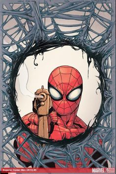 Superior Spider-Man artists Ryan Stegman and Giuseppe Camuncoli discuss building a new world for the webslinger in this interview! What's the coolest part of Spidey's new costume?    http://marvel.com/news/story/20046/world_of_superior_spider-man_pt_3