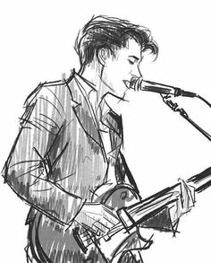 alex turner Art Print by ignify Drawing Reference Poses, Drawing Poses, Drawing Sketches, Art Reference, Music Drawings, Pencil Art Drawings, Drawings Of Men, Arctic Monkeys, Guitar Drawing