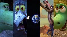 The Good Dinosaur Reacts to the Halloween Asteroid Disney Sign, Disney Parks, Disney Pixar, Walt Disney, Disney Movies, Disney Stuff, The Good Dinosaur, Movie Trailers, Character Design
