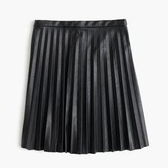 J.Crew Mini Skirt Black