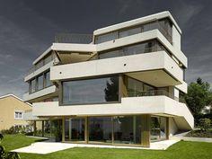 Auszeichnung, Wohnungsbau / Mehrfamilienhäuser: Mehrfamilienhaus Segantini, Baumberger + Stegmeier, Gruner + Wepf Ingenieure AG, © Roland Bernath
