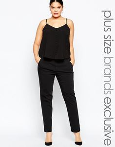 Carmakoma | Carmakoma Tailored Slim Leg Pant at ASOS
