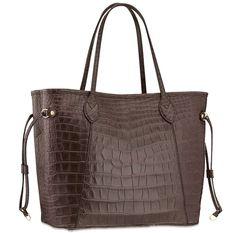 Louis Vuitton Alligator Neverfull MM Bag