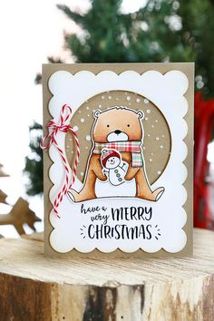 Beary Merry (Neat and Tangled release week)