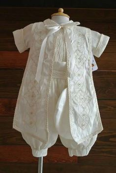 Boy christening outfit, Baptism pants, baptism break boy Christening suit boys, boy christening robe, swimsuit child baptism by FANNYCARMENDESIGN on Etsy https://www.etsy.com/listing/289981547/boy-christening-outfit-baptism-pants