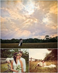 I love open fields for engagements. I know its been done, but one day I'll probably jump on that bandwagon