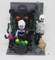 Lego Ursula Minifigures Vignette 8x8