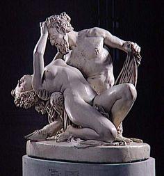 "James Pradier: Satyr and Bacchante."" 1833."