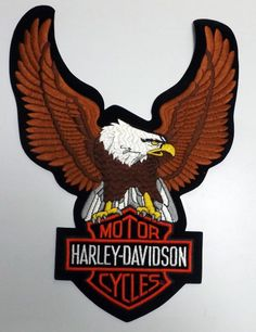Harley Davidson Patch Wings Harley Davidson Patches