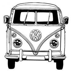 Tekeningen Van Volkswagen Busjes    Cheetahtravel
