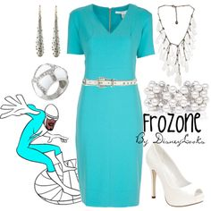 Frozone. Love the jewelry
