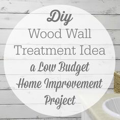 DIY Fence Board into Planked Wall How-To