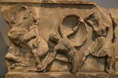 bodrum museum of underwater archeology – heracles and the amazons