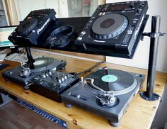Must do! IKEA Hackers: Ikea shoe rack transformed into DJ-furniture