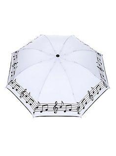 Music Note Compact Umbrella,