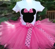Mini Mouse Tutu Outfit...... CUSTOMIZE YOURS TODAY!!