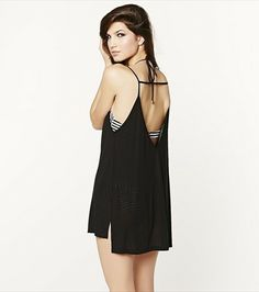 This low back swim cover-up is a sunny day favourite!