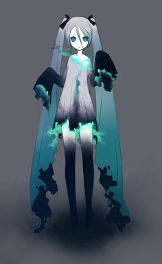 Hatsune Miku.  No es mi forma ideal de fortaleszerme, pero cuando no hay de otra, me las ayo