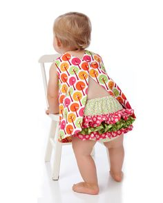 RUFFLED Diaper Cover Pattern PDF Sewing Pattern