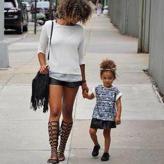 Sunday strolling.......#mommyandme