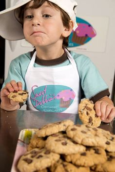 """My son says, """"Mommy, I love you because you're a baker"""". So even though my love for him is unconditional, his love for me is cookie conditional."""" #vegan #glutenfree #sugarfree #outofthemouthsofbabes"""