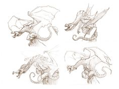 dragon muscle structure | deviantART: More Like Still here. Still battling. by ~Cre8tivemarks