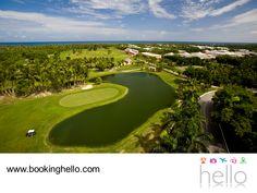 VIAJES PARA JUBILADOS. Viajar a Punta Cana y no pasar un día en sus espectaculares campos de golf, es casi imperdonable. Estos son uno de sus principales atractivos, perfectos para gozar de momentos relajantes mientras contemplas sus magníficos paisajes. En Booking Hello te invitamos a adquirir alguno de nuestros packs all inclusive a República Dominicana, para que no dejes pasar la oportunidad de combinar playa, sol y golf.  #BeHello