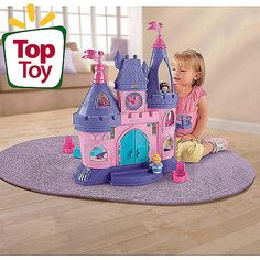 This was a great purchase for Christmas!  Lots of imaginative play!   Fisher-Price Little People Disney Princess Songs Palace Play Set $45
