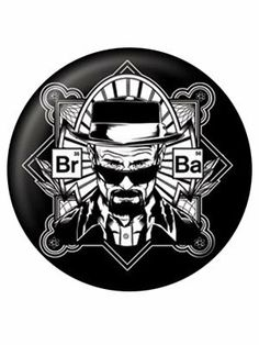 Officially Licensed Breaking Bad Heisenberg Badge: Amazon.co.uk: Clothing £2.39 free delivery