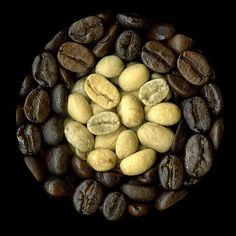 Scanography: Before and After - Coffee Roasting by cgfan, via Flickr