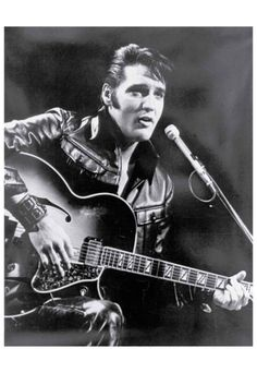 Elvis Presley - Black Leather - 1968