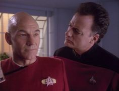 "Picard & Q, ""Tapestries"" (1992)"