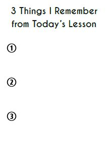 Exit Ticket Template  Exit Slips    Ticket