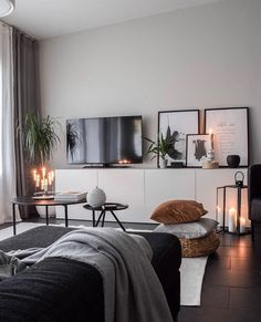 Home Bedroom, Home Living Room, Apartment Living, Living Room Decor, Bedroom Decor, Home Room Design, Home Interior Design, Living Room Designs, Luxury Homes Interior