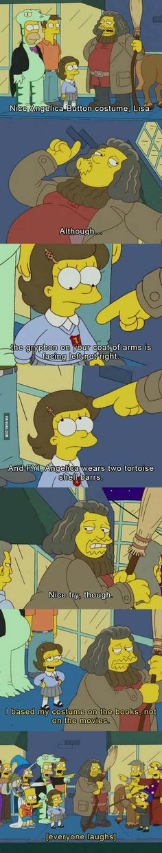 The Simpsons take on an all-too-common issue between male and female nerds.