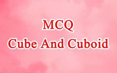 Question And Answer, This Or That Questions, Online Mock Test, Cube