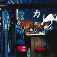 Yakitori - Original by Erin Nicholls. Paintings for Sale. Bluethumb - Online Art Gallery