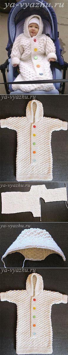 конверт (мешочек) «Снеговик»