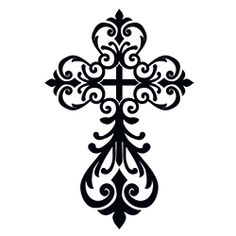 Celtic Cross - I would stretch it out a little and make it slightly thinner. Beautiful