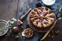 Fig + almond cake