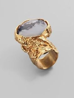 YSL ring. I really like the design on these.