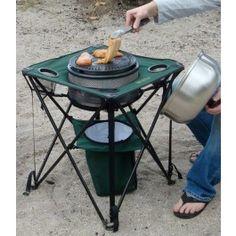 Cobb Premier Portable Grill Store - Cobb Folding Table for the Cobb Portable Charcoal Grill and Cooking System