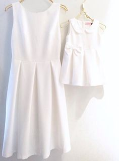 Mb 5 Mom And Baby Dresses, Mom And Baby Outfits, Mom Dress, Matching Family Outfits, Little Girl Dresses, Kids Outfits, Mother Daughter Fashion, Mom Daughter, Sewing Baby Clothes