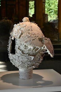 Sculpture JF BOURLARD - Stage EMA CNIFOP Expérimentation et matières